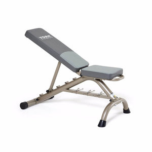 York Barbell 45071 Multi Position Fitness Bench With Fitbell Storage Close Up