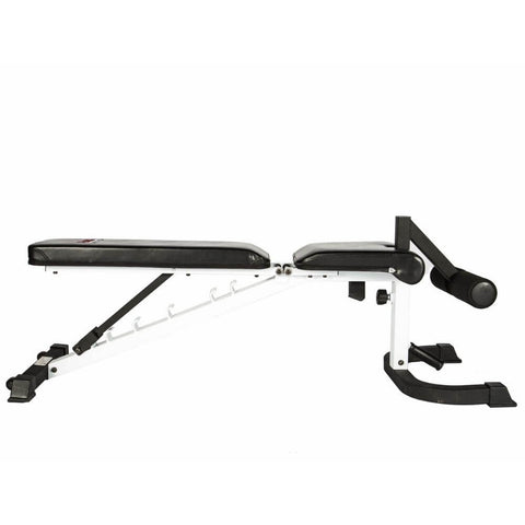 York Barbell 48004 FTS Flex Adjustable Bench Press With Foot Hold-Down 180 Degrees