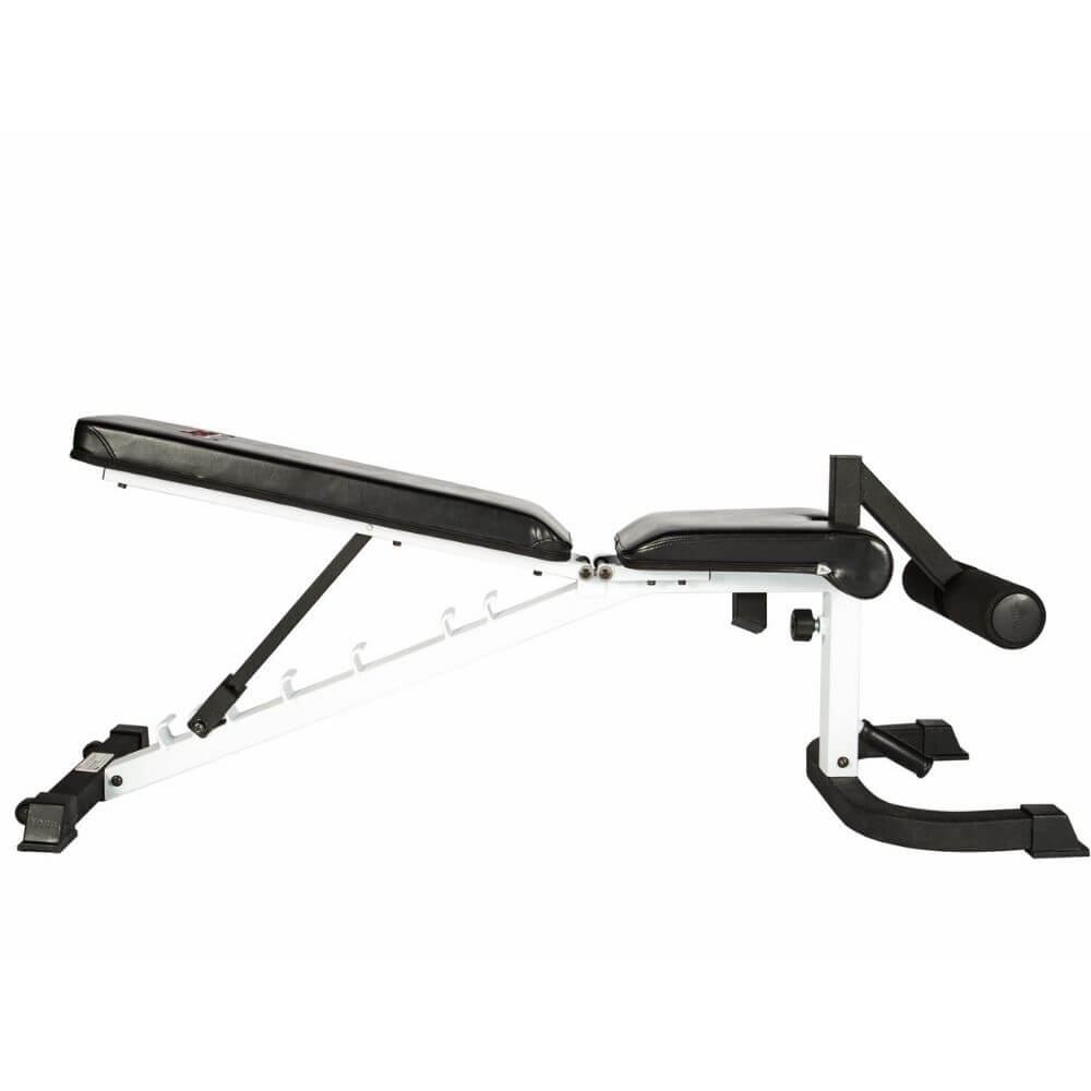 York Barbell 48004 FTS Flex Adjustable Bench Press With Foot Hold-Down Inclined