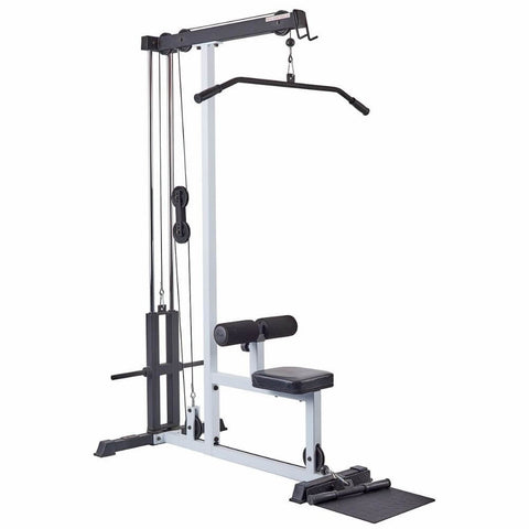 York Barbell 48051 FTS Lat Pull-Down Machine 3D View