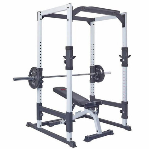 York Barbell 48053 FTS Power Cage With Bench