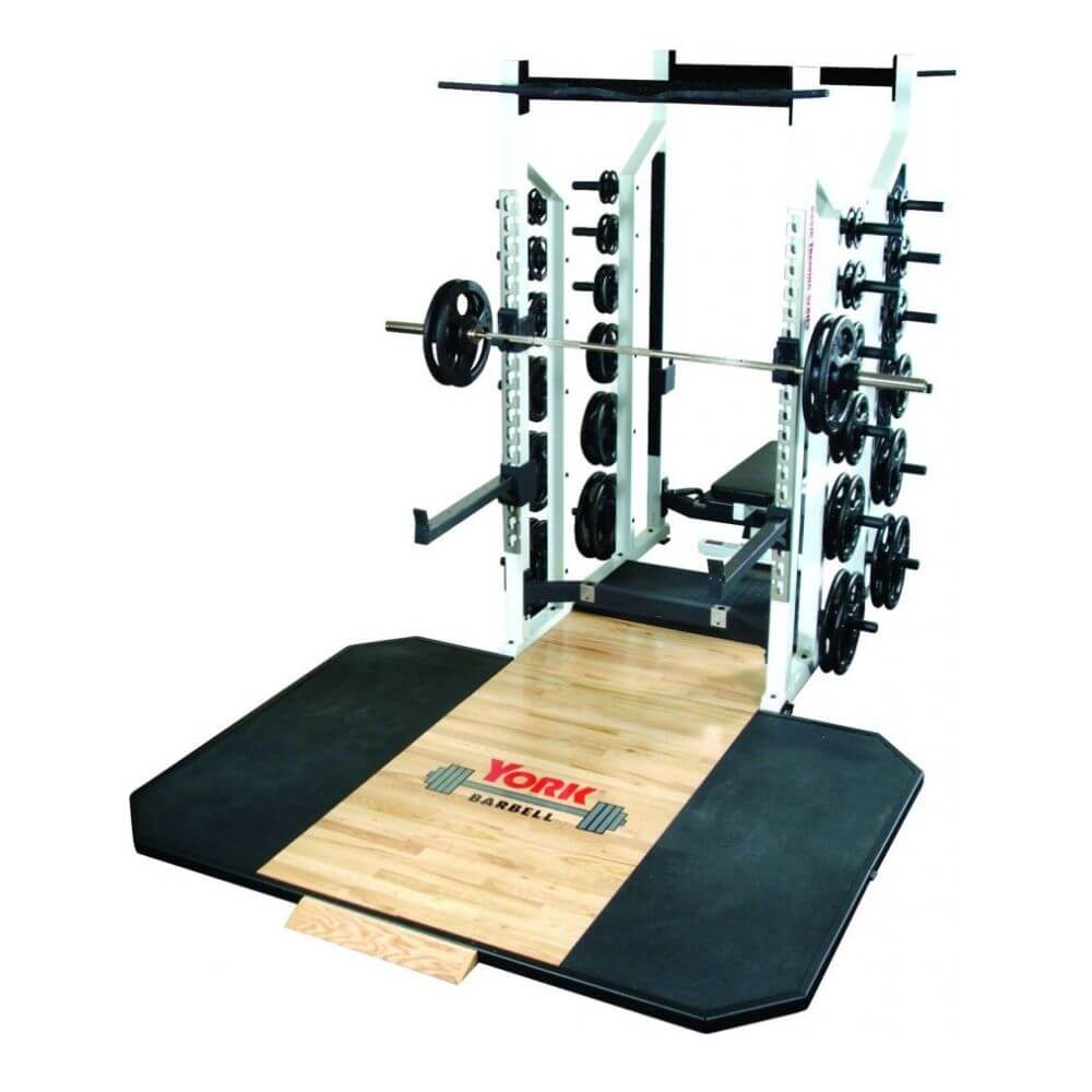 York Barbell 54014 STS Double Half Rack