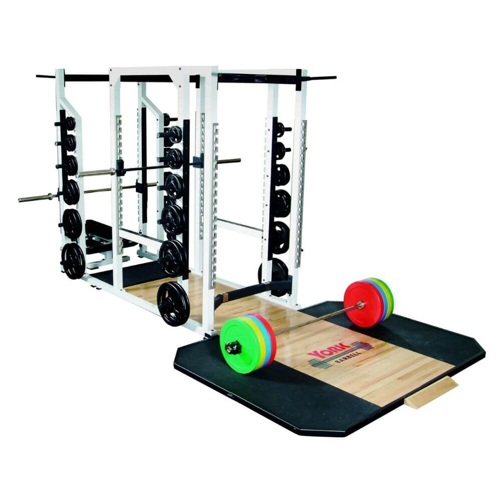 York Barbell 54015 STS Triple Combo Rack