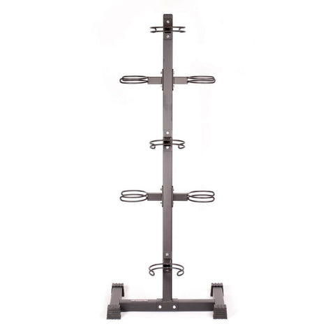 Image of York Barbell 65103 7-Ball Vertical Medicine Ball Storage Rack Front View