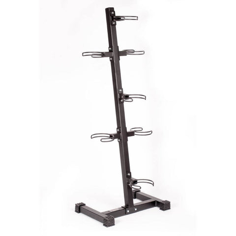 Image of York Barbell 65103 7-Ball Vertical Medicine Ball Storage Rack