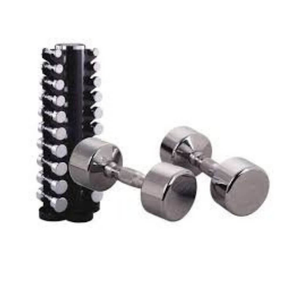 York Barbell 69001 Two Sided Vertical Dumbbell Rack