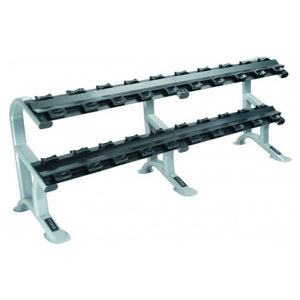 York Barbell 69046 Two Tier Dumbbell Rack