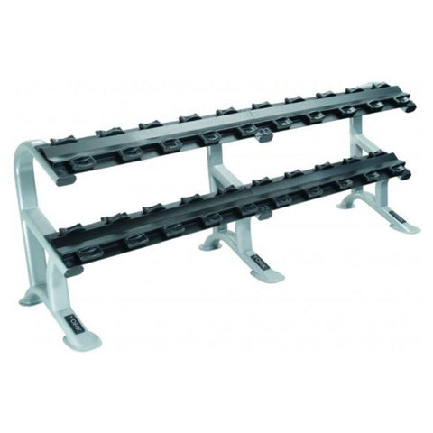 Image of York Barbell 69046 Two Tier Dumbbell Rack