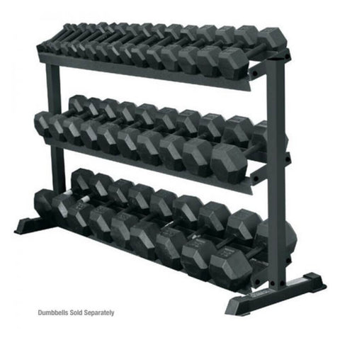 York Barbell 69127 Three Tier Pro-Hex Rack