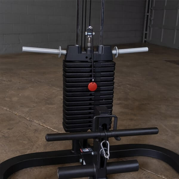 Body-Solid GPR400 Power Rack GLA400 Lat Pull SP200