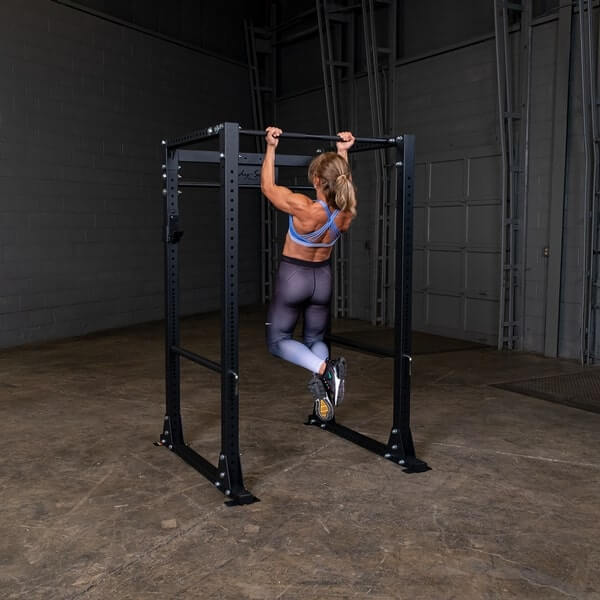 Body-Solid GPR400 Power Rack Female Chin Up