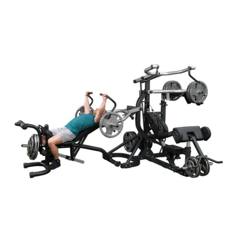 Body-Solid SBL460P4 Free Weight Leverage Gym