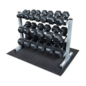 Body-Solid SDRS550 5-50lb Dumbbell Package
