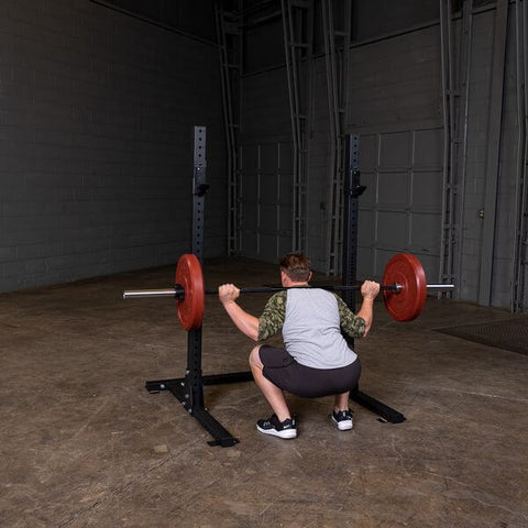 Body-Solid SPR250 Pro Club Squat Stand Male Back Squat