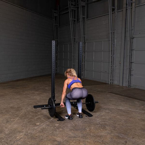 Image of Body-Solid SPR250 Pro Club Squat Stand Female Deadlift