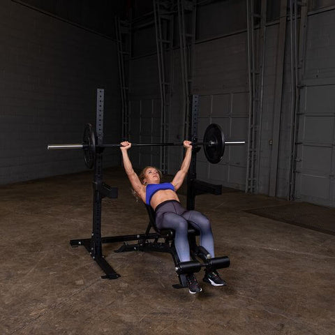 Image of Body-Solid SPR250 Pro Club Squat Stand Female Incline Press