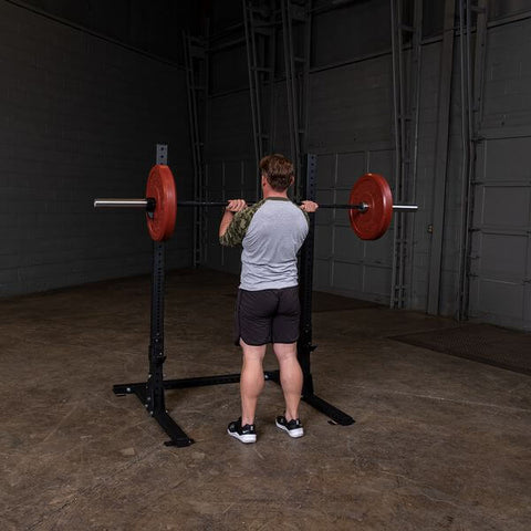 Body-Solid SPR250 Pro Club Squat Stand Male Front Rack