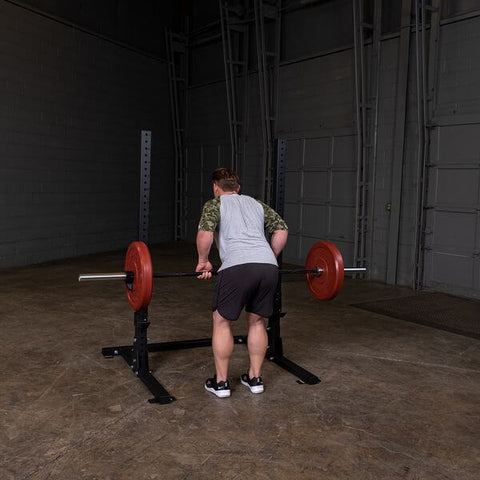 Image of Body-Solid SPR250 Pro Club Squat Stand Male Row