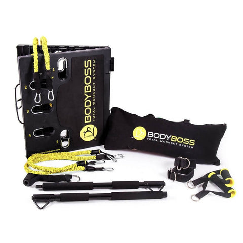 BodyBoss 2.0 Portable Gym System - Extra Bands Bundle