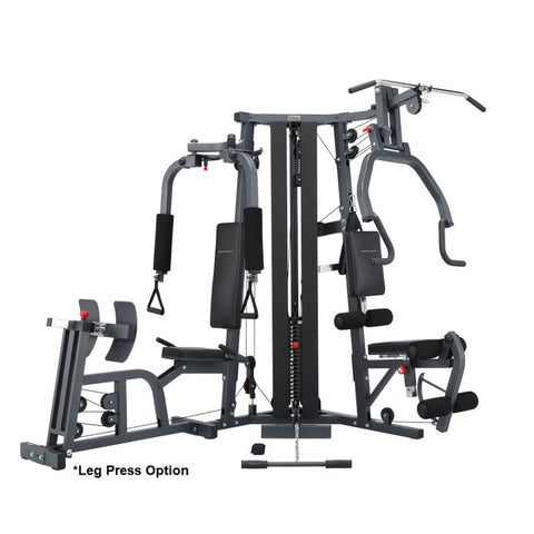 BodyCraft Galena Pro Single Stack Strength Training System With Leg Press