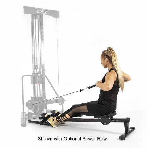 Image of BodyCraft PFT V2 Functional Trainer Optional Power Rower
