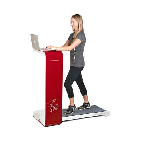 Image of BodyCraft SWT-R SpaceWalker Folding Treadmill Red Hero