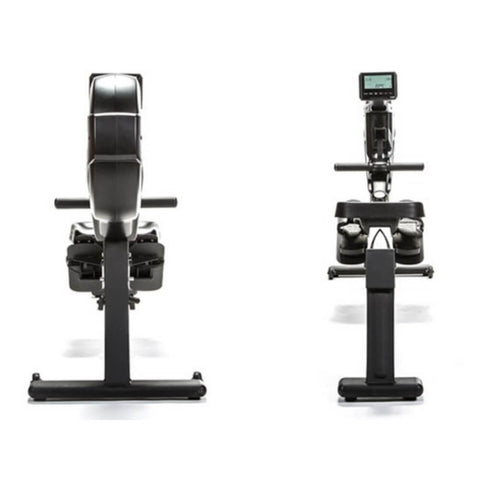 BodyCraft VR400 Pro Commercial Rower Front and Rear Views