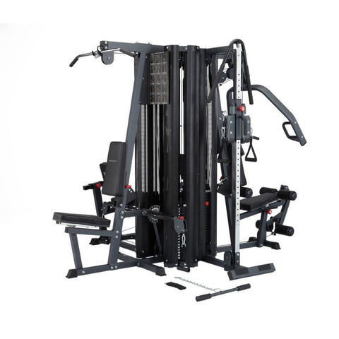 BodyCraft X4 Strength Training System Angled View