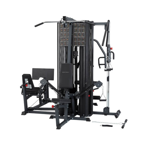 Image of BodyCraft X4 Strength Training System Rear View