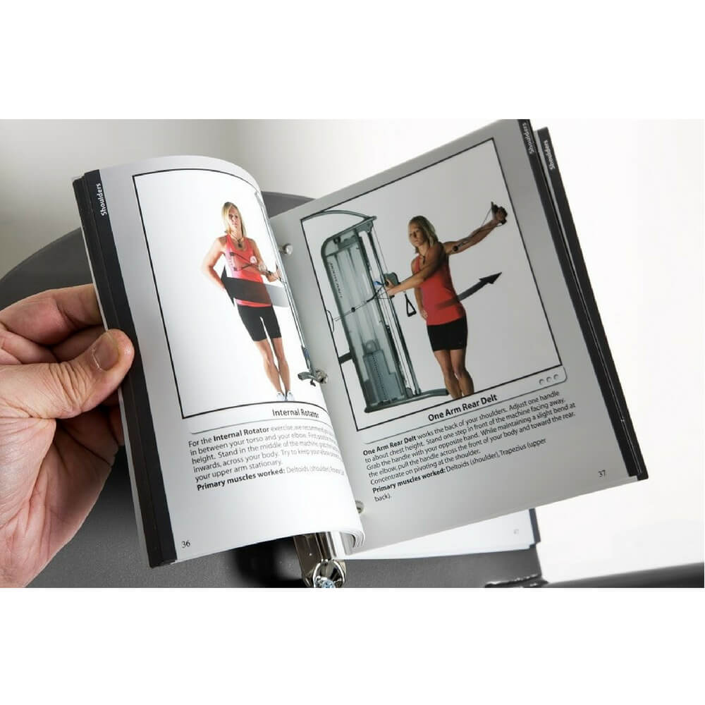 BodyCraft HFT Functional Trainer - Exercise Book