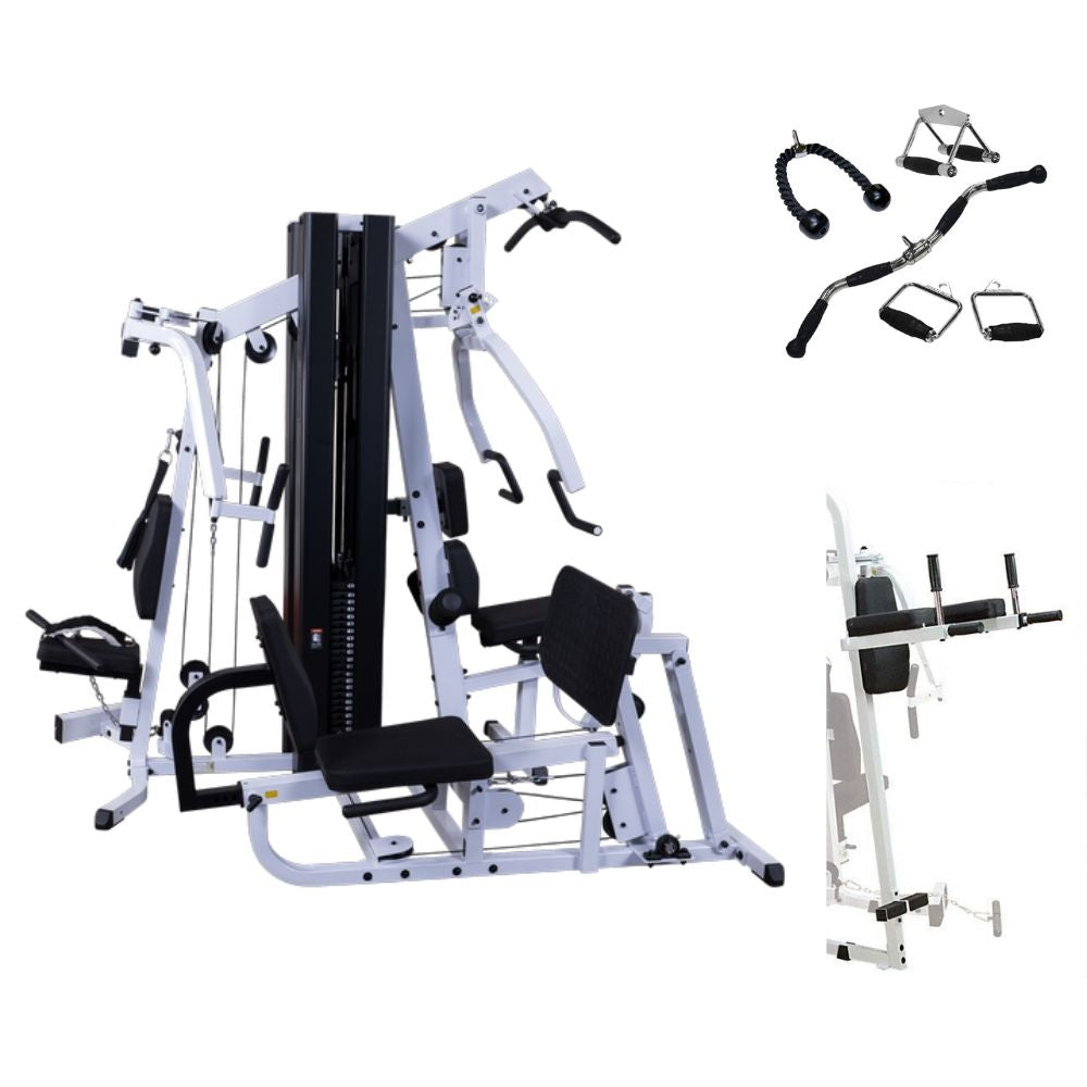 Body-Solid EXM3000LPS Deluxe Multi-Stack Gym Package