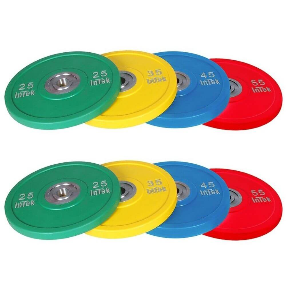 Intek Strength IBCN Armor Series Colored Urethane Bumper Plate Sets
