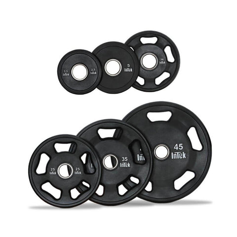 Intek Strength ITUSS Armor Series Urethane Olympic Plates