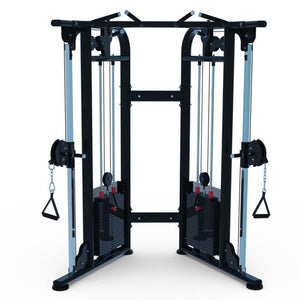 "Muscle D Fitness 88"" Dual Adjustable Pulley Functional Trainer NEW 2020"