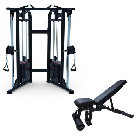 Muscle D Functional Trainer Gym Package