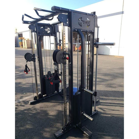Image of Muscle D Smith Machine Functional Trainer Combo MDM-DPSM