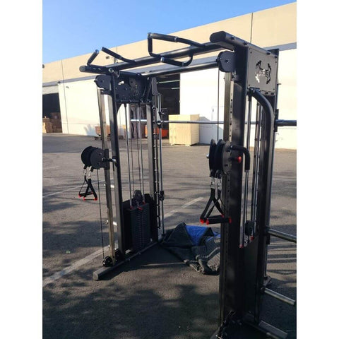 Muscle D Smith Machine Functional Trainer Combo MDM-DPSM