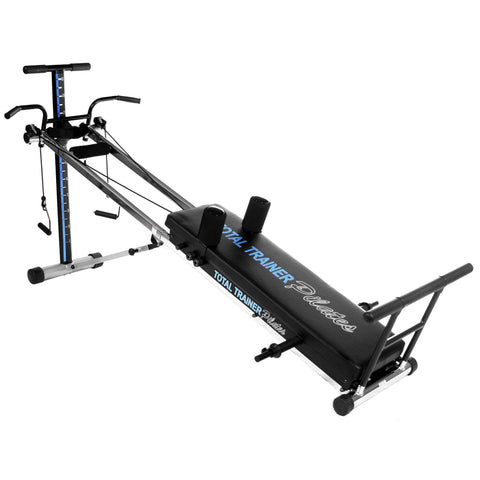 Image of Bayou Fitness Total Trainer Pilates Pro Reformer Home Gym PilatesPro