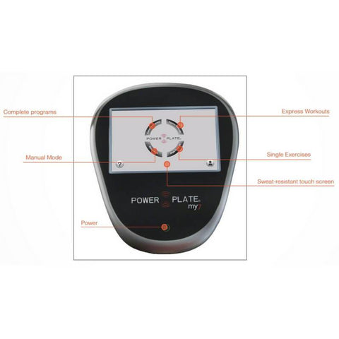 Power Plate my7 Vibration Trainer 71-M7A-3150