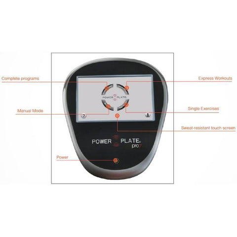 Image of Power Plate pro7 Vibration Trainer 71-PR7-3150