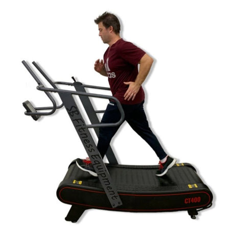SB Fitness CT400 Curved Treadmill Hero