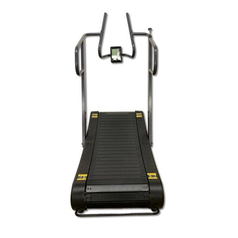 SB Fitness CT400 Curved Treadmill Rear View
