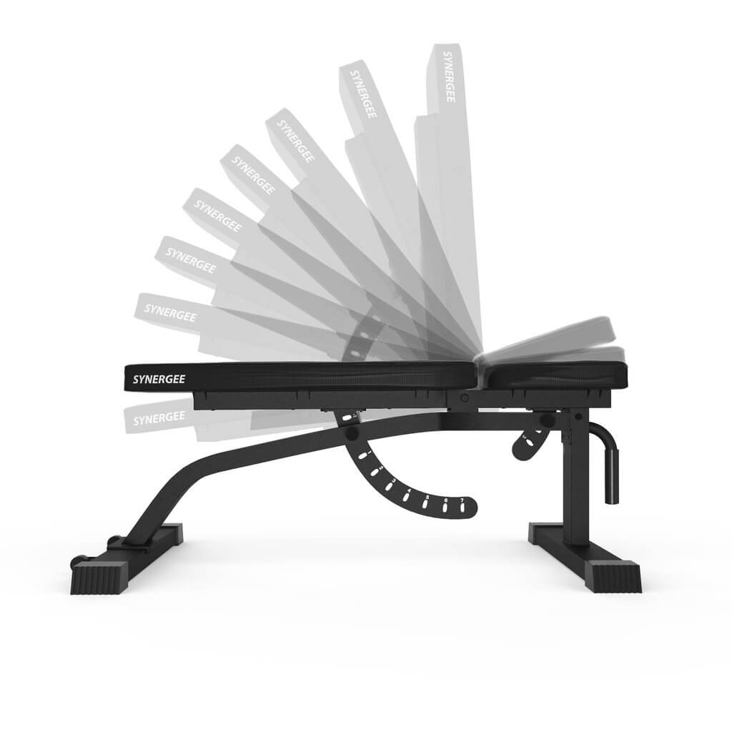 Synergee Adjustable FID Workout Bench Angles