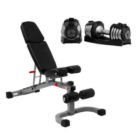 Image of XMark Fitness Home Gym Starter Set
