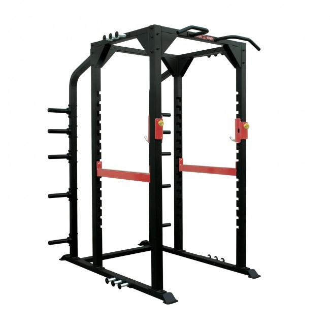 Xtreme Monkey XM-3344 Commercial Full Power Rack 3D View