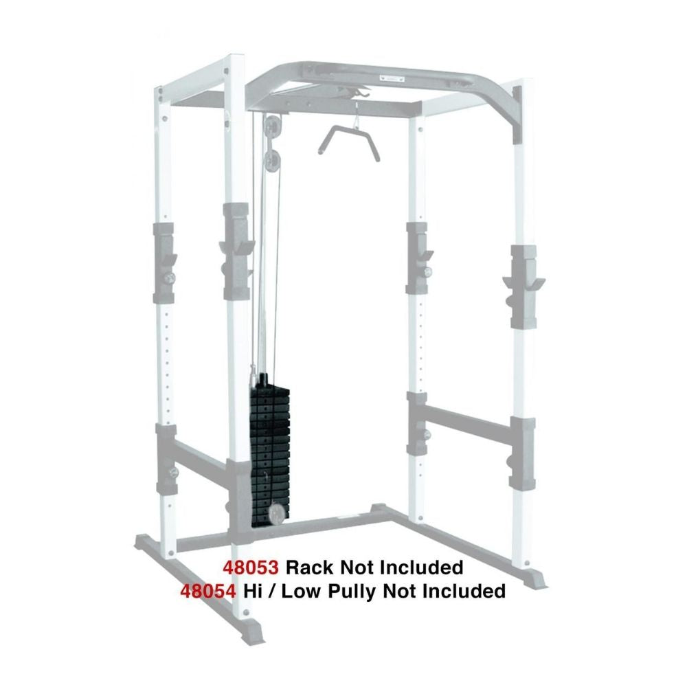 York Barbell FTS 200lb Weight Stack Conversion Kit