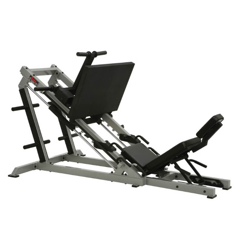 York Barbell STS Leg Press Silver 55035