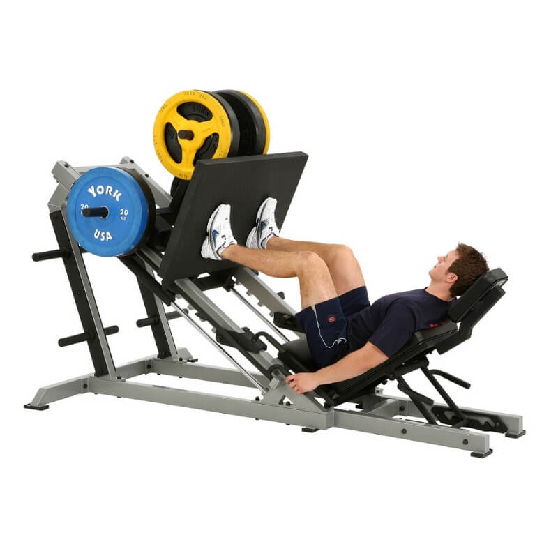 York Barbell STS Leg Press Silver 55035 Hero