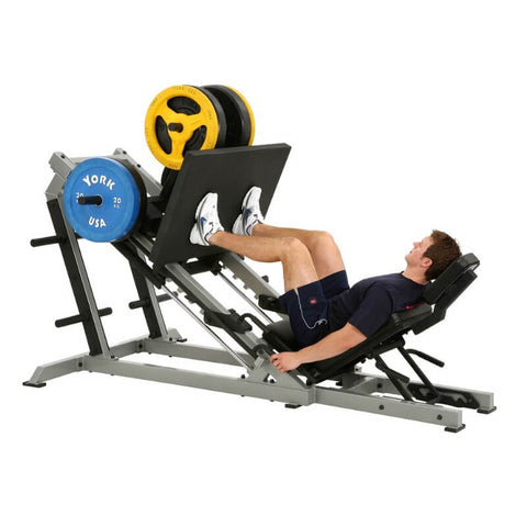 Image of York Barbell STS Leg Press Silver 55035 Hero
