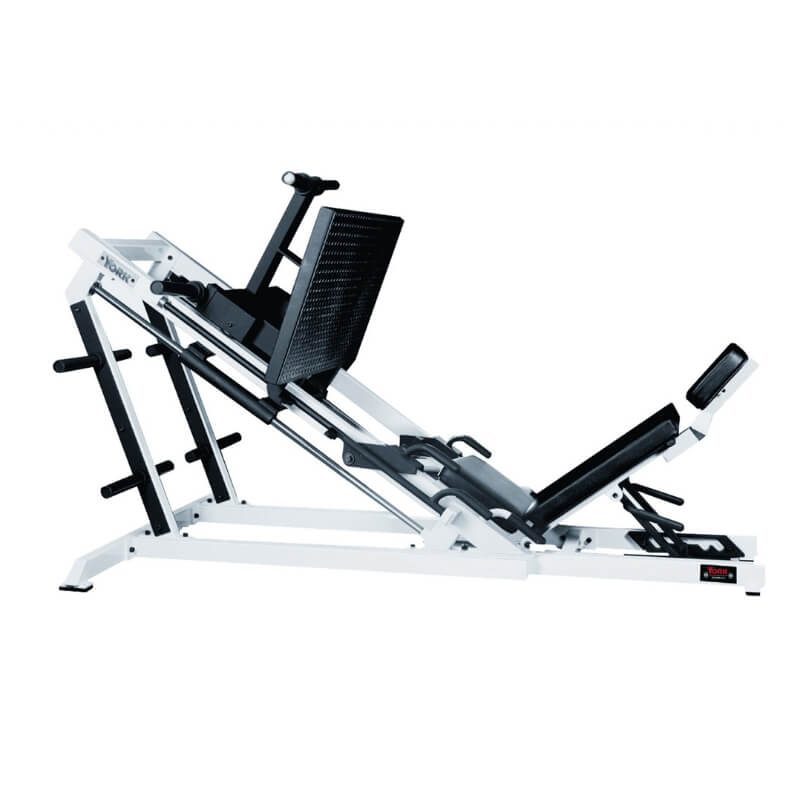 York Barbell STS Leg Press White 54035